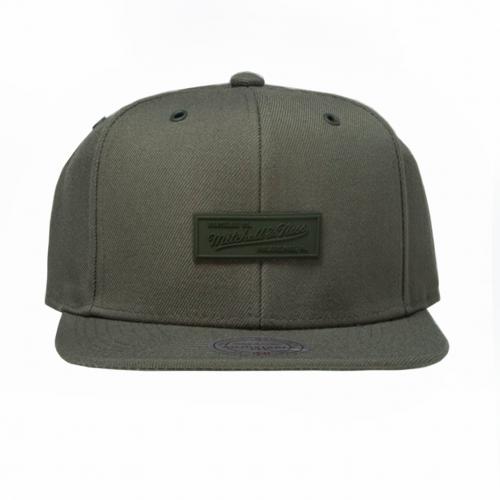 mitchell-ness-cap-snapback-mitchell-and-ness-logo-olive-swipe-eu973-hoodshop-cepure-online-shop-shipping
