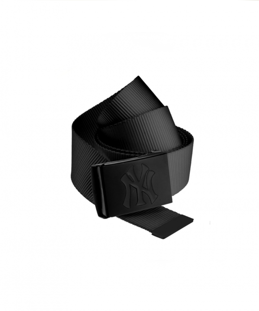 mlb-premium-black-woven-belt-single