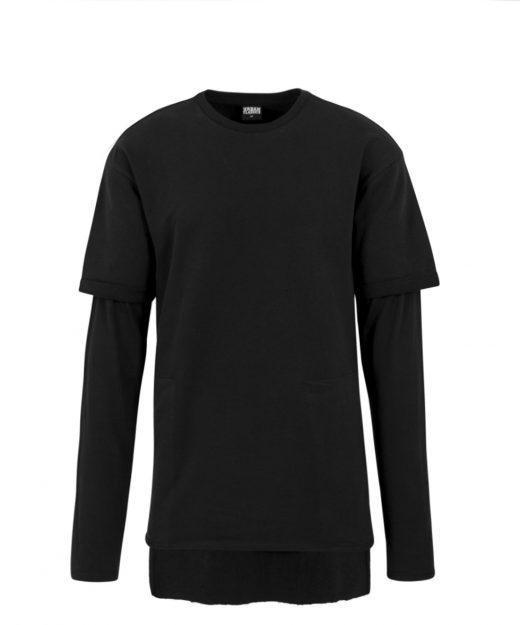 tb1387-long-2-in-1-terry-crew-black-krekls