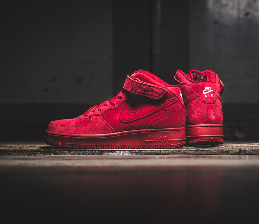 Nike – Air Force 1 Mid  07 RED (315123-609). Sneakers   shoes fe319ef90c1f
