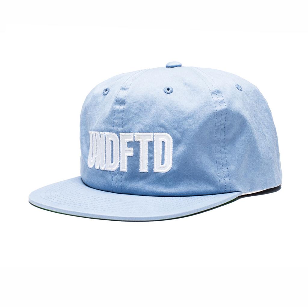 UNDEFEATED UNDFTD APPLIQUE STRAPBACK CAP BLUE ccbed7aa3eda