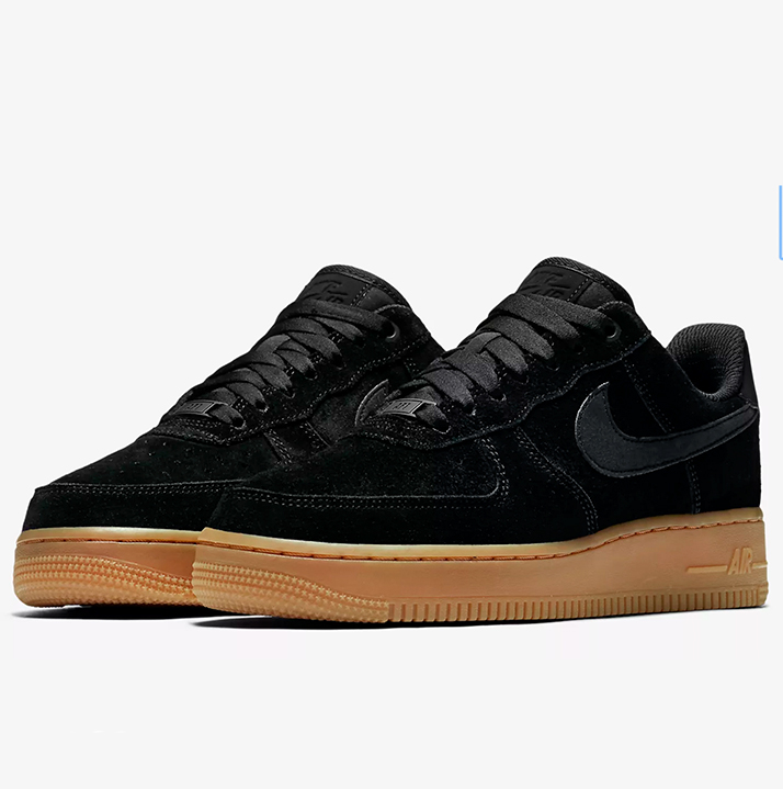 reputable site f98f9 411fe Nike Air Force 1 07 SE Suede (AA0287-002)