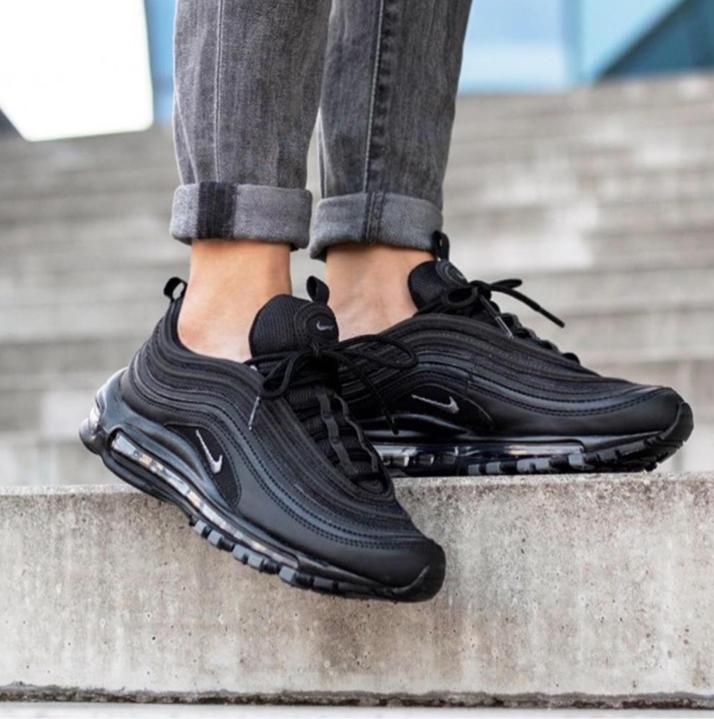 Nike Air Max 97 Wmns Black Black Dark Grey | Footshop
