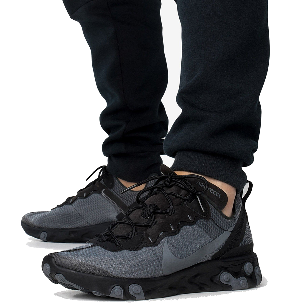 Black And Grey Nike React Top Sellers, UP TO 60% OFF